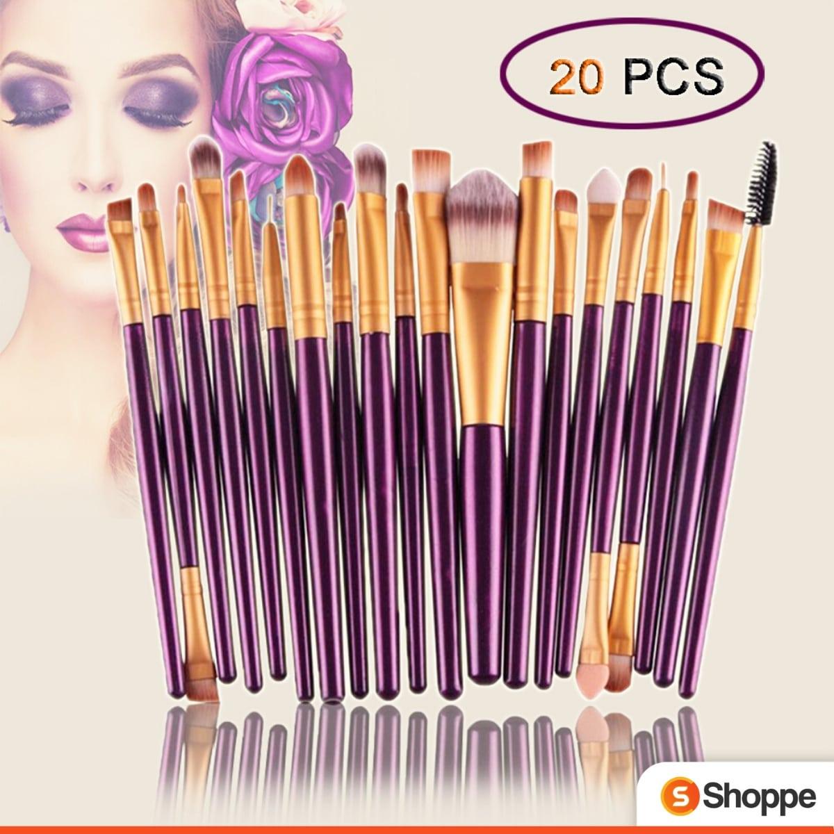20Pcs Makeup Brushes Set   SHOPPE.LK
